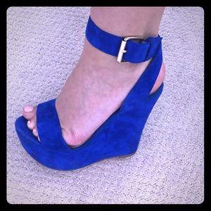 Royal Blue Aldo High Heels